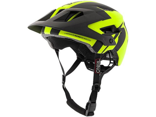 db2c3617f58ff ONeal Defender 2.0 casco per bici giallo nero su Bikester